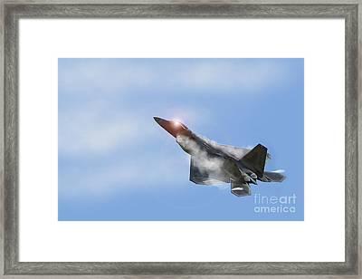 Raptor Vapour Framed Print by J Biggadike