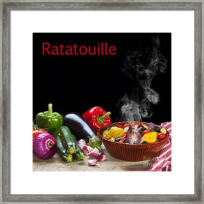 Ratatouille Concept Framed Print by Colin and Linda McKie