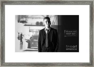 Ratpack With Luke - Ay 2013 Framed Print by Ute Bescht