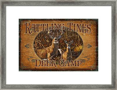Rattling Tines Framed Print by JQ Licensing