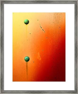 Raw Steel 5 Framed Print by Tom Druin