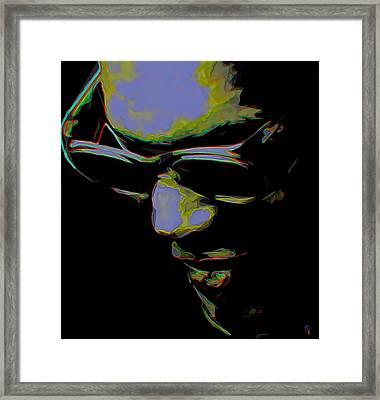 Ray Charles Framed Print by  Fli Art