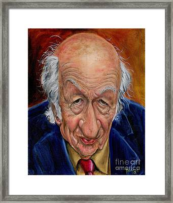Ray Harryhausen Framed Print by Mark Tavares