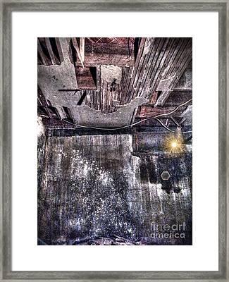 Ray Of Hope Framed Print by Dan Stone