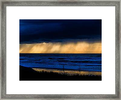 Ray Of Hope  Framed Print by Jb Atelier
