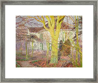 Ray Of Sunlight Framed Print by Emile Claus
