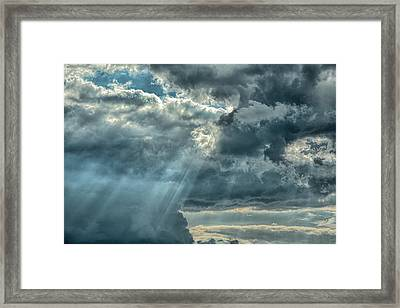 Rays From Heaven Framed Print by Jai Johnson