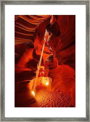 Rays Of Hope Framed Print by Midori Chan
