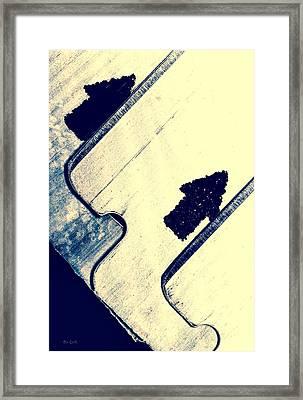 Razor Blades Framed Print by Bob Orsillo