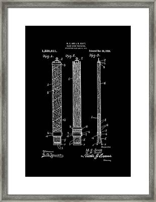 Razor Strop Protector 1920 Scotts Framed Print by Lesa Fine