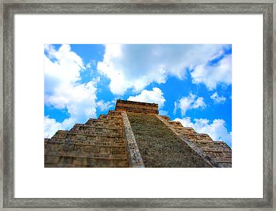 Reac For The Sky Framed Print by Jame Hayes