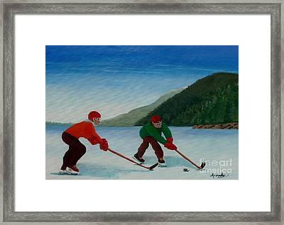 Reach For It Framed Print by Anthony Dunphy