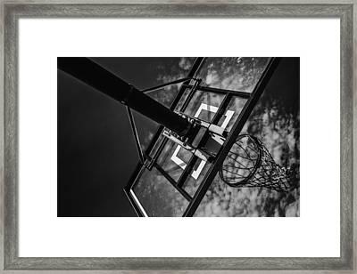 Reach For The Basket Framed Print by Karol Livote