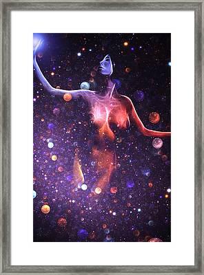Reaching The Stars Framed Print by Stefan Kuhn