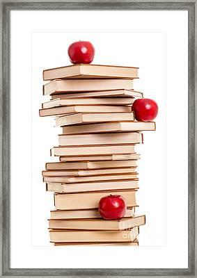 Reading Is Fun Framed Print by Edward Fielding