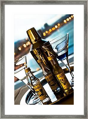 Ready For Drinks Framed Print by Sotiris Filippou