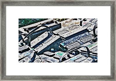 Ready For Recycle Framed Print by Crystal Harman