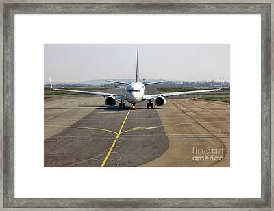 Ready For Take Off Framed Print by Olivier Le Queinec