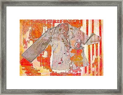 Art Of The Shirt Framed Print by Susan Stone