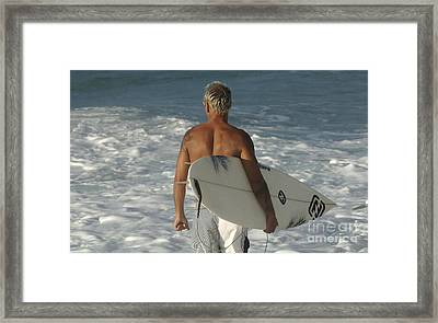 Ready To Go Framed Print by Bob Christopher