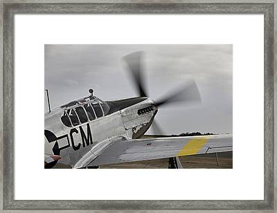 Ready To Taxie Framed Print by M K  Miller