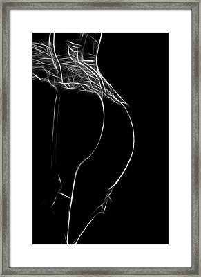 Ready To Touch Framed Print by Steve K