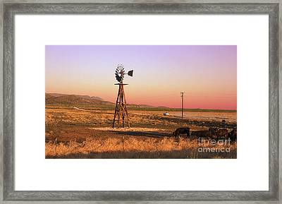 Real West Texas  Framed Print by Paul Anderson