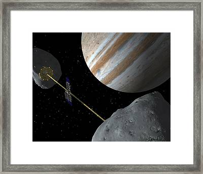 Realm Of Giants Framed Print by Ray Cassel