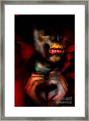 Reaping Lost Love Framed Print by Brittany Perez