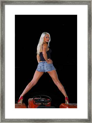 Rear View Framed Print by John Dauer