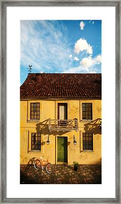 Rear View Window... Framed Print by Tim Fillingim