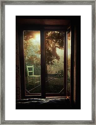 Rear Window Framed Print by Taylan Apukovska