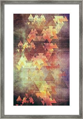 Rearrange The Sky Framed Print by VessDSign