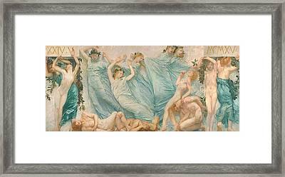 Reawakening Framed Print by Sartorio Giulio Aristide