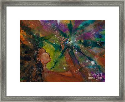Recapturing Her Soul Framed Print by Ilisa  Millermoon