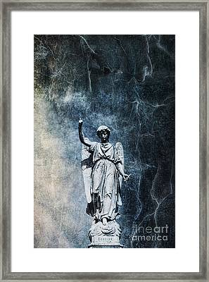 Reckoning Forces Framed Print by Andrew Paranavitana