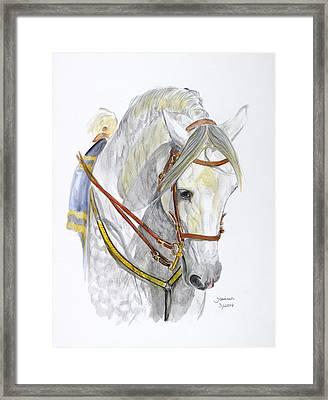 Recluta Framed Print by Janina  Suuronen