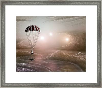 Reconaissance Framed Print by Mark Zelmer