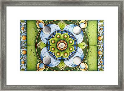 Reconciliation Framed Print by Ida  Novotna