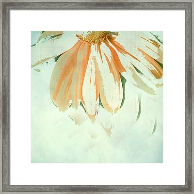Reconstructed Flower No.1 Framed Print by Bonnie Bruno