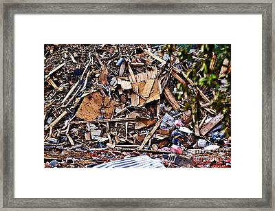 Recycle This  Framed Print by JW Hanley