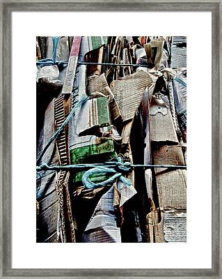 Recycler Framed Print by Odd Jeppesen
