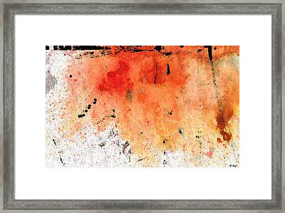 Red Abstract Art - Taking Chances - By Sharon Cummings Framed Print by Sharon Cummings