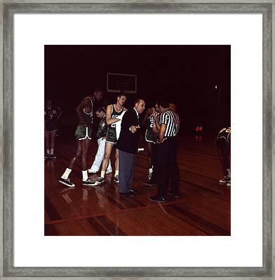 Red Auerbach  Framed Print by Retro Images Archive