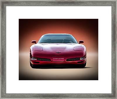 Red Framed Print by Douglas Pittman