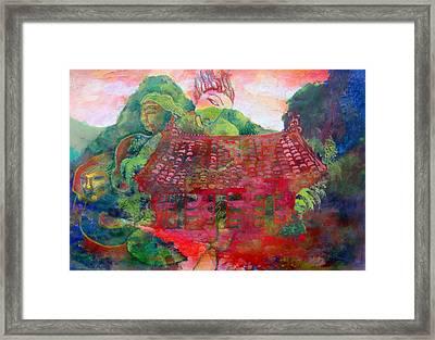 Red Festival Framed Print by James Huntley