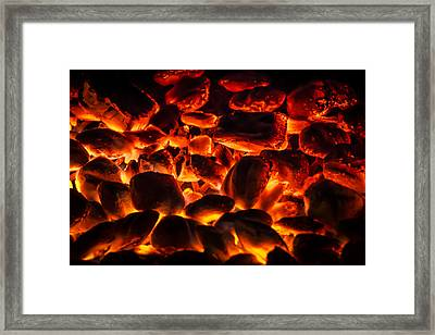 Red Hot 2 Framed Print by Bradley Clay