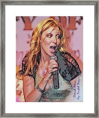 Red Hot Framed Print by Brian Graybill
