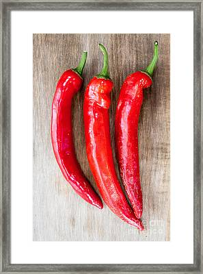 Red Hot Chili Peppers Framed Print by Edward Fielding