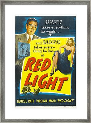 Red Light, Us Poster, George Raft Framed Print by Everett